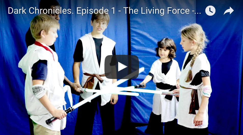 Dark Chronicles. Episode 1 - The Living Force - Star Wars (2016)